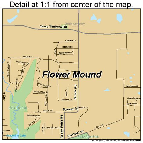 map of flower mound texas flower mound texas map 4826232