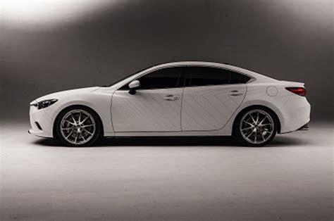 mazda 6 white 2014 vehicles on display chicago auto show 2015