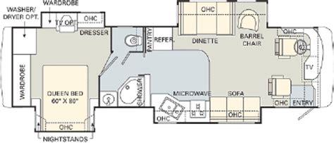 monaco rv floor plans 2006 monaco cayman 36pdq floorplan