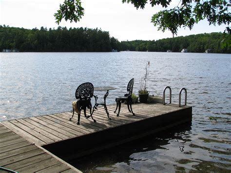 boat dock table and chairs what s in a dock boats and places magazine