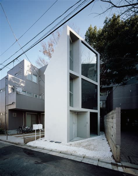 Small Houses Architecture Small Home Design In Tokyo Angular House By Schemata