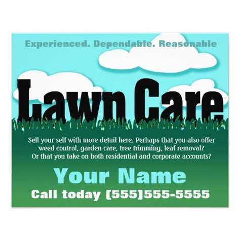 mowing flyer template 28 lawn care business flyers lawn care business flyer