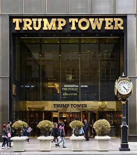 trumps home in trump tower trump accuses barack obama of wire tapping his phones