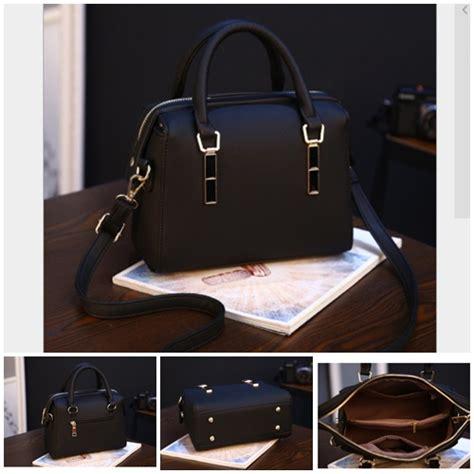 Tas Selempang Wanita Cantik 03375 Black Import jual b8993 black tas selempang wanita cantik grosirimpor