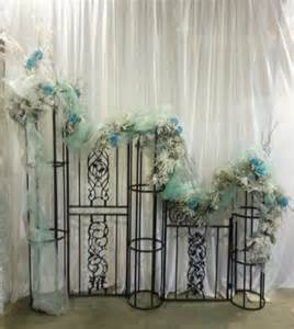 Wedding backdrops backgrounds decorations columns