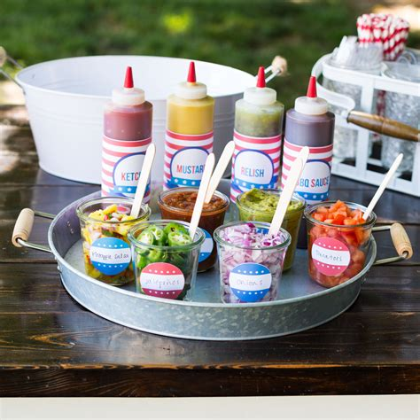 toppings bar hot dog toppings bar for the 4th of july i heart nap time