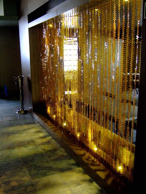 restaurant partition room divider topaz leaf bead curtain