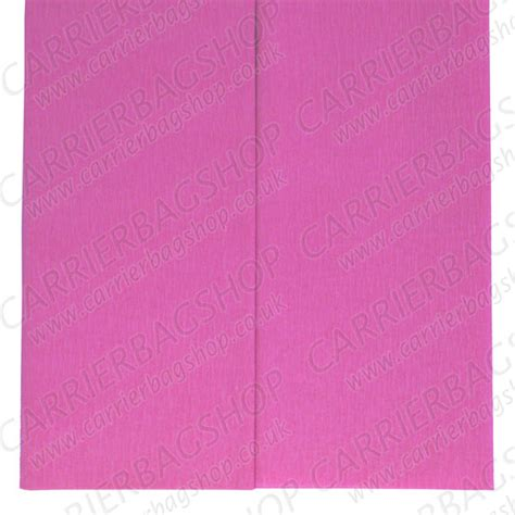 Crepe Paper Folds - light pink crepe paper folds from carrier bag shop