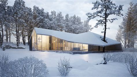 winter house winter house by sergey makhno architects archiscene