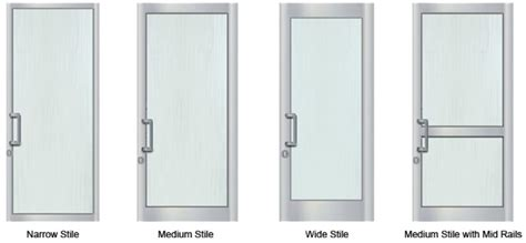 Aluminum Door by Aluminum Door Medium Stile Aluminum Door