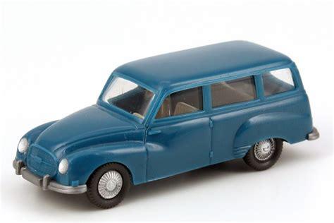 Wiking Auto by 1 87 Auto Union 1000 Universal Blau Wiking 123