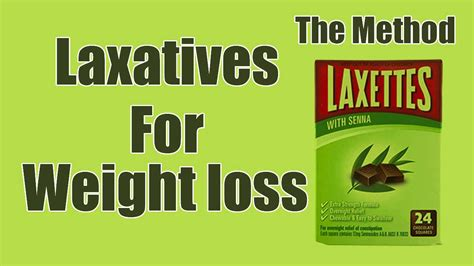 weight loss laxatives how to use laxatives for weight loss method