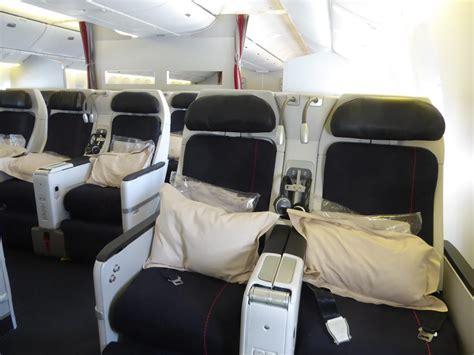 siege business air voyages d affaires la premium economy est faite pour