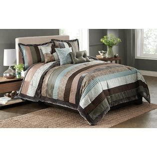 essential home comforter set essential home 6 piece fontanella striped comforter set