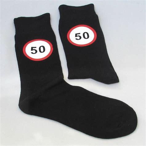 The Birthday Sock by Happy 50th Birthday Socks By Chapel Cards