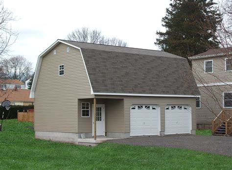 2 car garage detached two car garage prices from amish pennsylvania