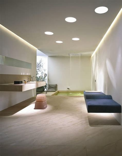 bathroom false ceiling material 30 cool bathroom ceiling lights and other lighting ideas