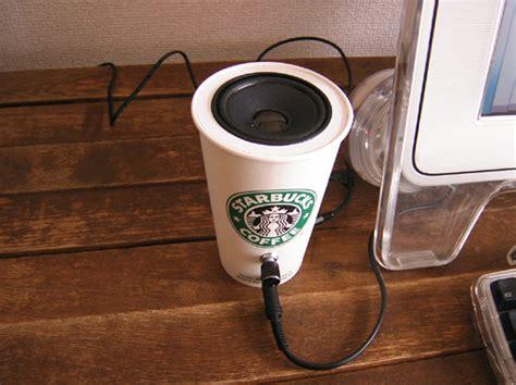 coffee cup speaker set