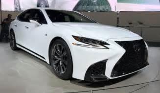 Lexus Images The 2018 Lexus Ls F Sport Impressions