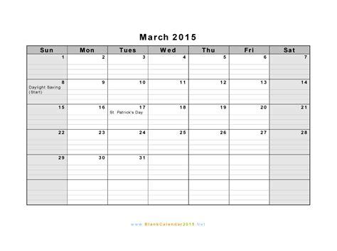 2015 calendar blank template blank calendar template 2017 printable calendar