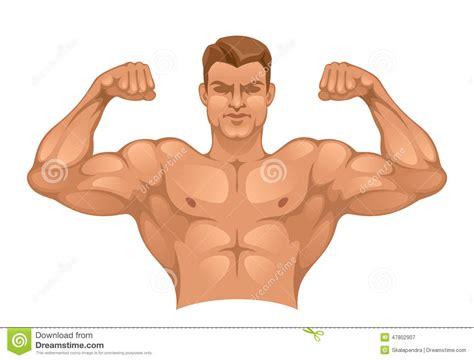 imagenes fuertes para adultos starker mann vektor abbildung bild von manly kraft