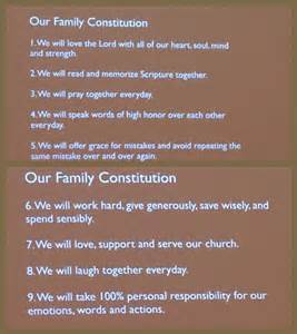 preamble template family constitution the kiddos