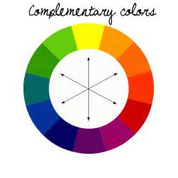 blue complementary color school of color