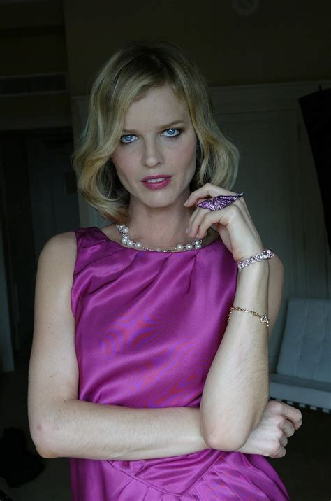 eva herzigova cute hq    cannes photoshoot