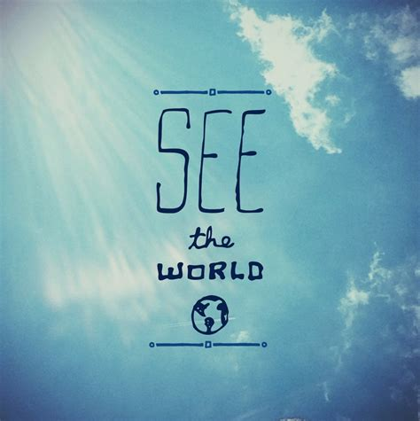 The World I See what we see is what we are