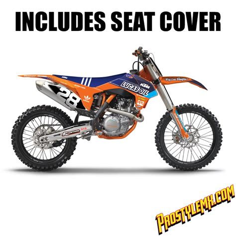 Ktm Factory Graphics Tld Factory Ktm Graphic Kit Pro Style Mx