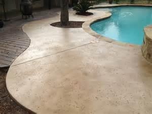 Saltillo Tile Patio Staining Concrete Mvl Concretes Blog