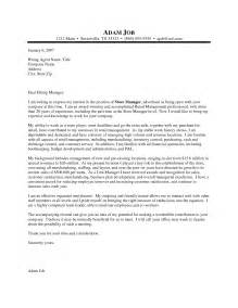 Cover Letter For Assistant Manager Retail by Exle Resume For Retail Assistant Manager Retail