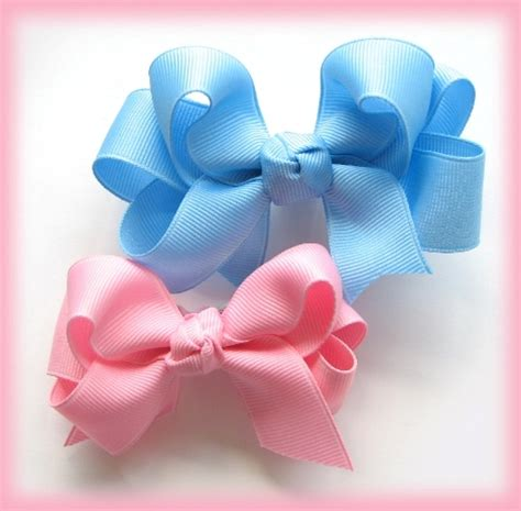 hair bow instructions project instruction how to make double ruffle ribbon 2 layer