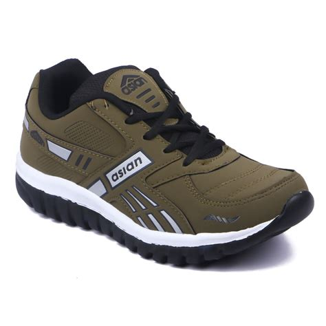 brown athletic shoes asian shoes grip 02 brown running shoes price in india