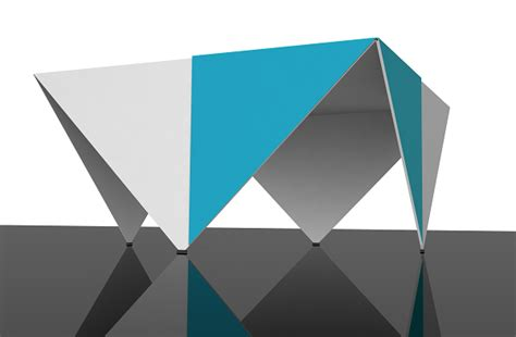 functional origami origami table icreatived