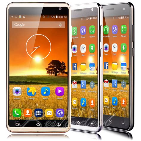 cheap android phones unlocked cheap android factory unlocked mobile phone dual sim smartphone 5 5 quot ebay
