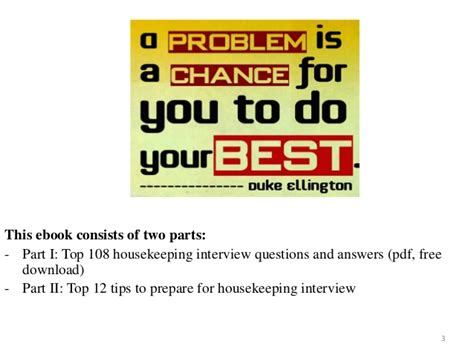 134 housekeeping questions and answers pdf