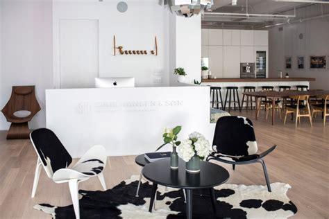 hansen ls new york carl hansen son showroom new york 187 retail design blog