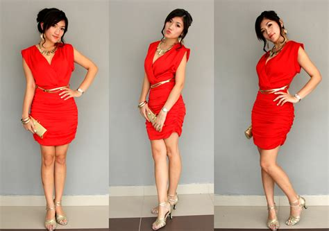 what goes with red red dress and color shoes style guru fashion glitz