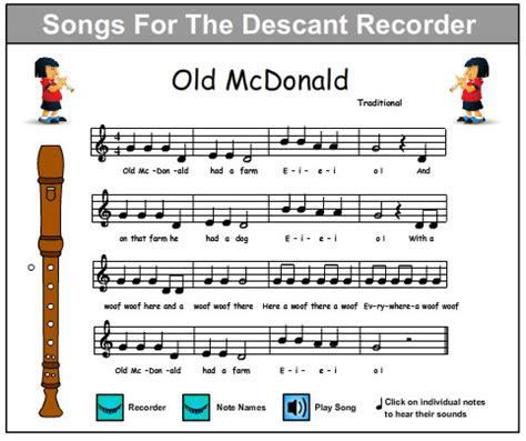 Online Tutorial Recorder | old mcdonald music skills online interactive activity