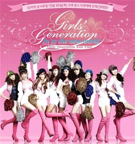 generation the 1st asia tour concert quot into the new world quot