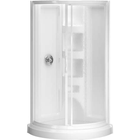shower units for small bathrooms