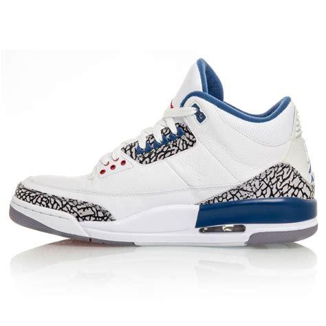 blue basketball shoes air 3 retro mens basketball shoes true blue