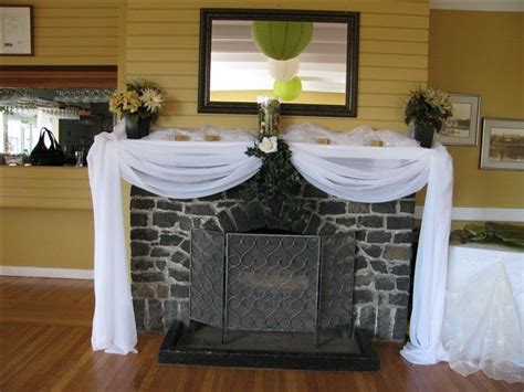 decorative fireplaces for weddings   Wedding Angels