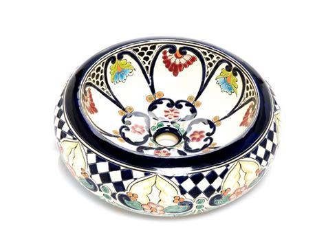 bemalte keramik waschbecken mexiko waschbecken