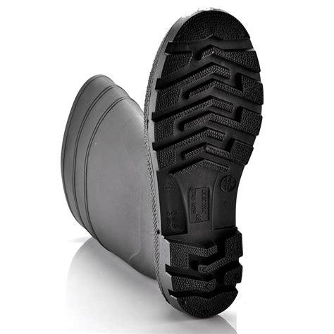 Sepatu Bot Karet Cor Hitam by Pria Bekerja Sepatu Bot Dari Karet Hitam W 6036b