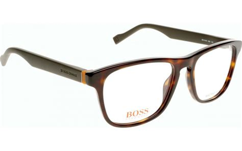 orange glasses hugo boss orange bo 0180 k8b 53 prescription glasses