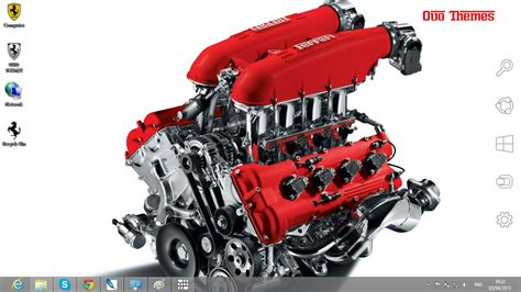 Themes Engine | ferrari car engine theme for windows 7 and 8 ouo themes