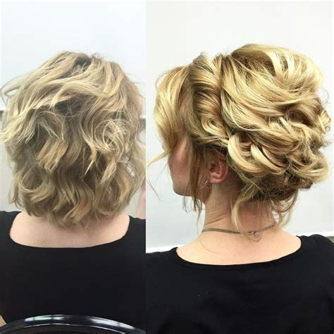 17 best ideas about short hair up on pinterest short hair updo short curly updo and naturally