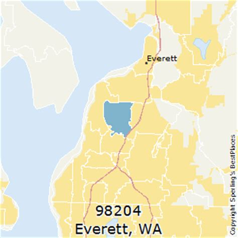 zip code map everett wa best places to live in everett zip 98204 washington